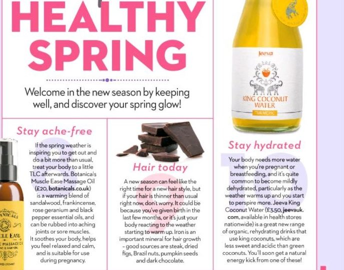 Mother & Baby Magazine Features Our Organic Turmeric King Coconut Water