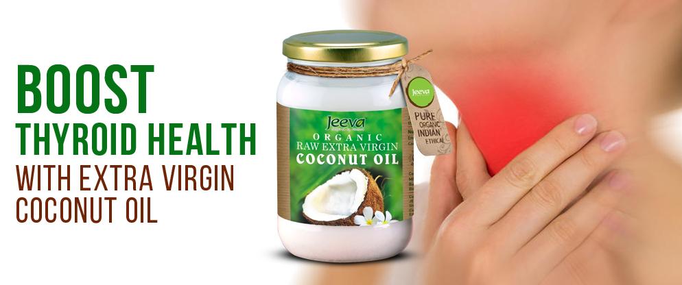 Thyroid coconut oil