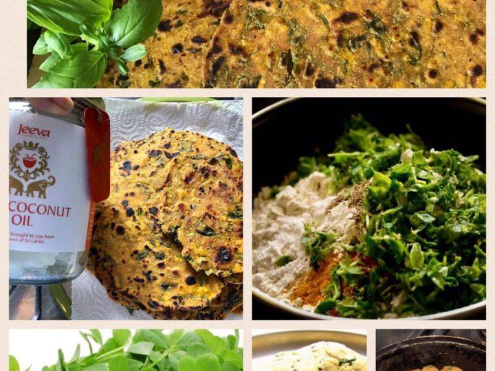 Methi (Fenugreek)Naan– A Nutritious And Light Gluten Free Bread Using Organic Coconut Oil